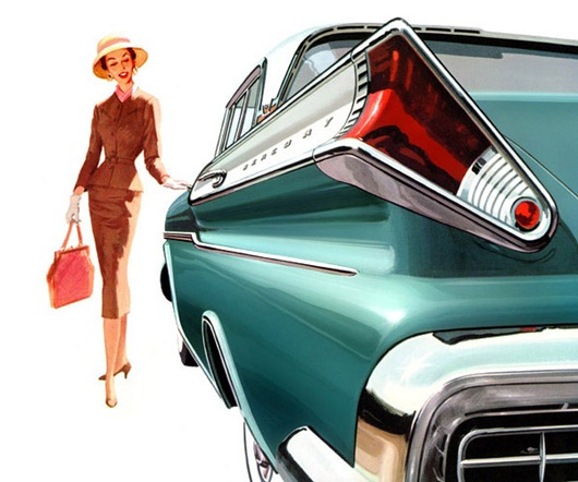 Автомобильное барокко США 1957-1960 годов