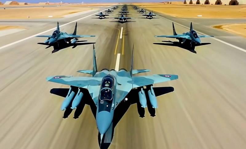 Египет может отказаться от американских F-16 в пользу наших МиГ-29 Видео