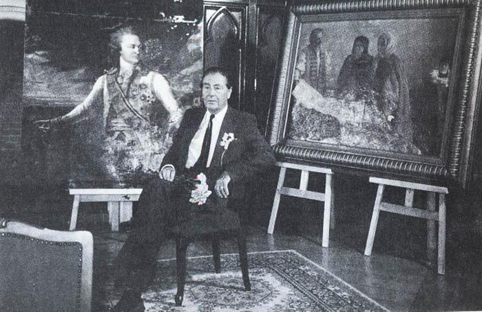 Картину Дмитрия Левицкого меценат нашел в подвале дома в Америке