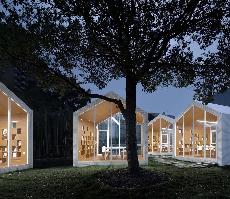 Необычный проект библиотеки в одной из школ Китая