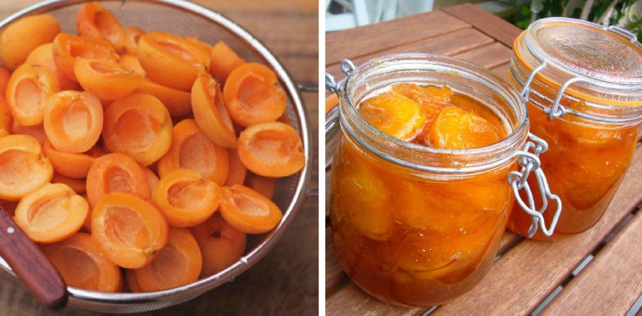 Рецепт варенья из абрикосов половинками. Зимой вы почувствуете вкус лета!