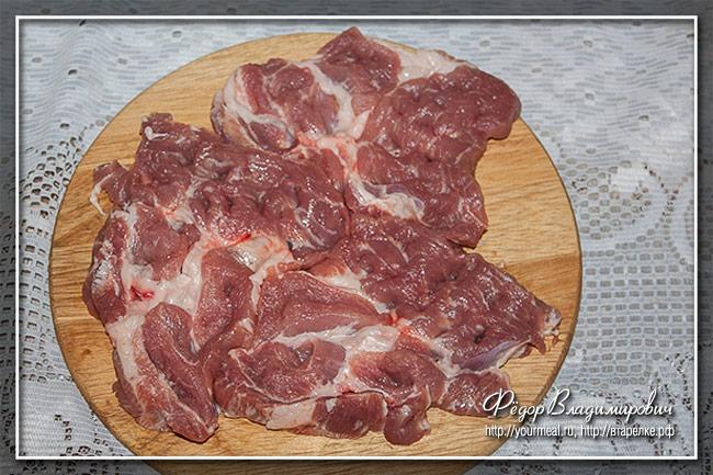 Пряная свинина в панировке