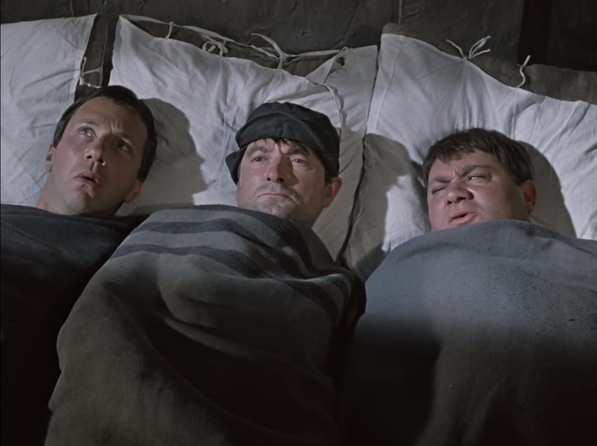 Сложно не согласиться, что итоговый актерский состав вышел действительно удачным (кадр из фильма)