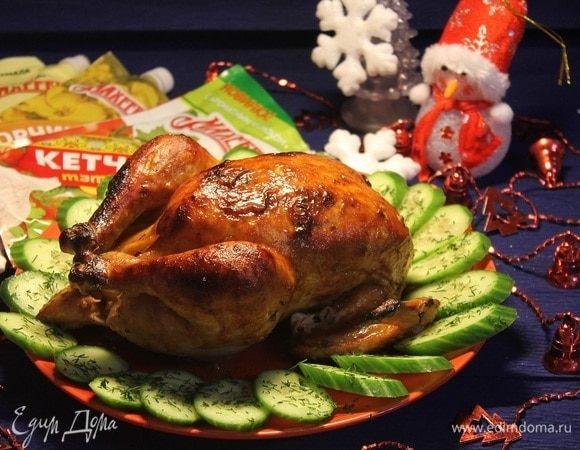 Запеченная курица «Новогодняя традиция»