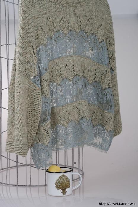 Творческая идея: вязание и кружево от Елена Родина