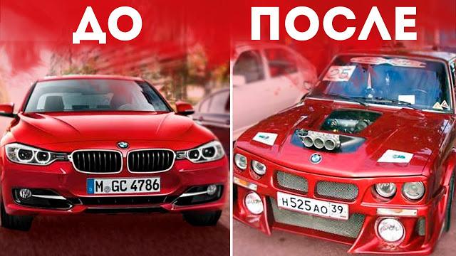 ТОП 10 КУЛЬТОВЫХ ТЮНИНГОВ ВАЗ-2106