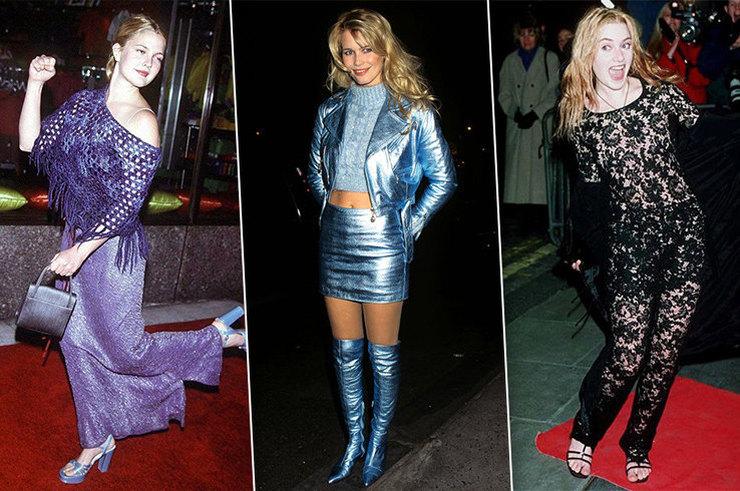 Как одевались звезды в 90-е: 15 безумных образов