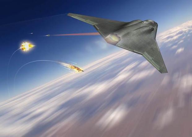 Прототип авиационного лазера успешно сбил несколько ракет Авиация