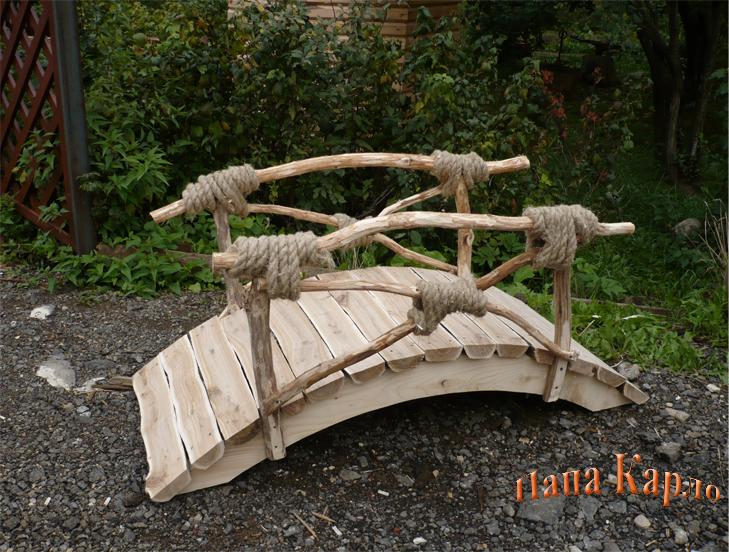 декоративный мостик своими руками фото пошагово в вам советуем