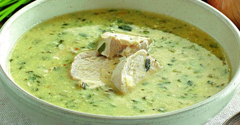 Грузинский куриный суп чихир…