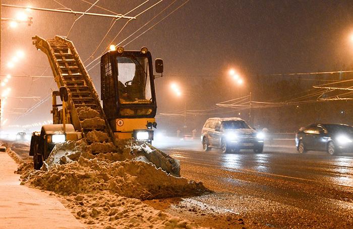 В Москве снова погодные качели