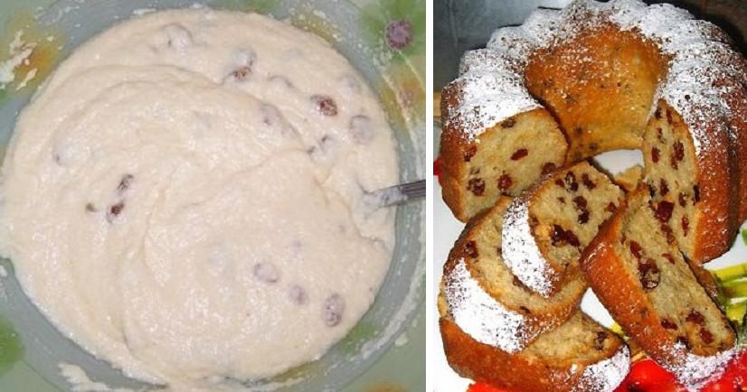 Главная » Кулинария Пышный пирог-пятиминутка. Простой рецепт без возни и горы испачканной посуды