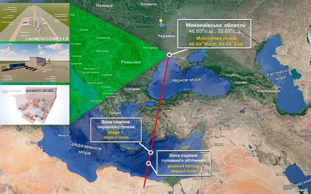 Украинцы мечтают создать проект легкой ракеты «Циклон-1М»
