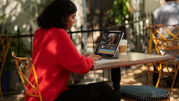 Apple запускает новый iPad Pro с процессором M1