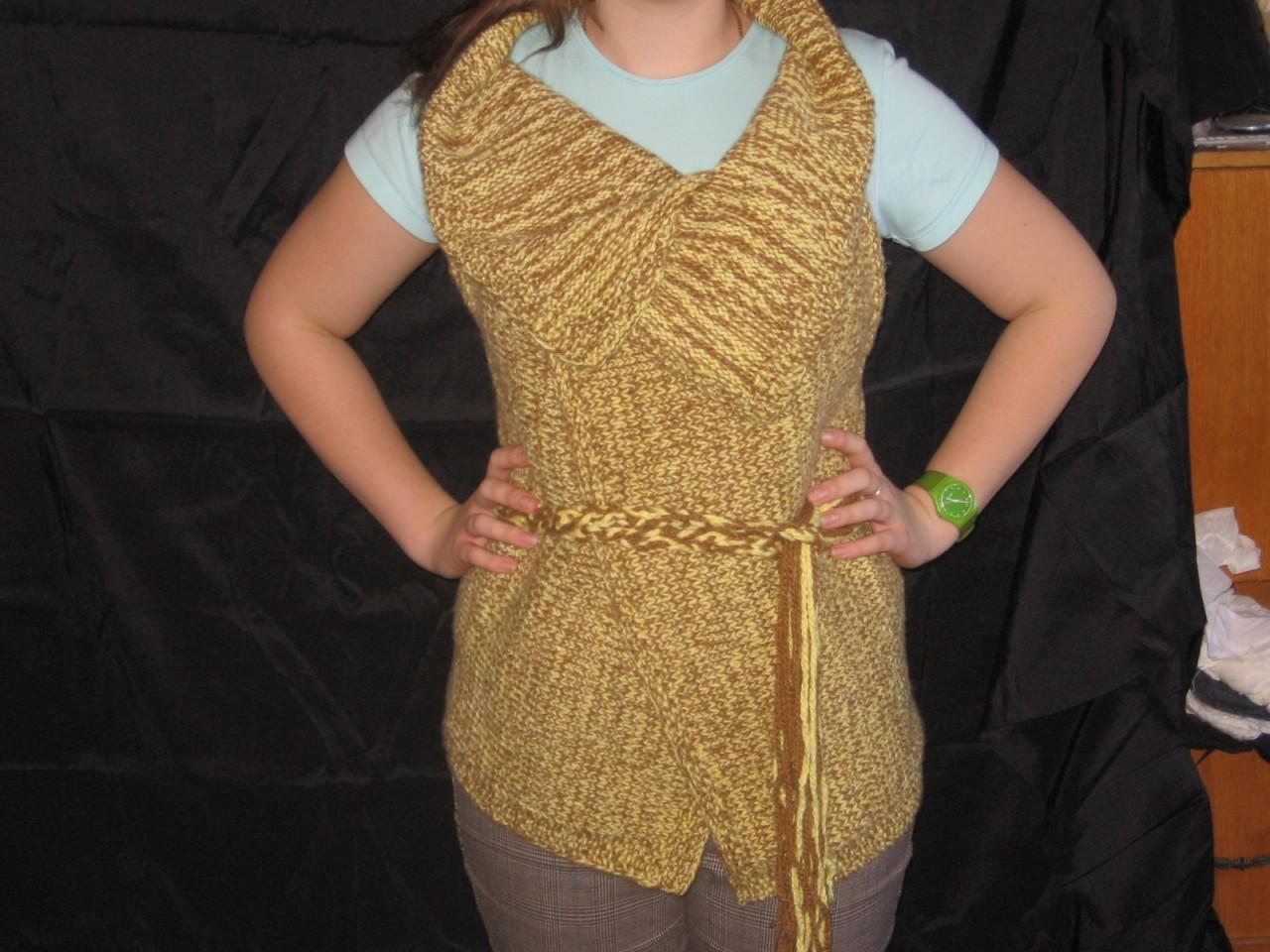 ажурное вязание для полных спицами