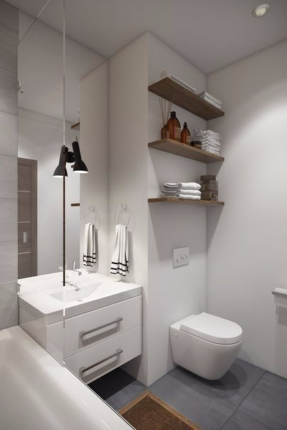 Дизайн однокомнатной квартиры (32 кв.м.)