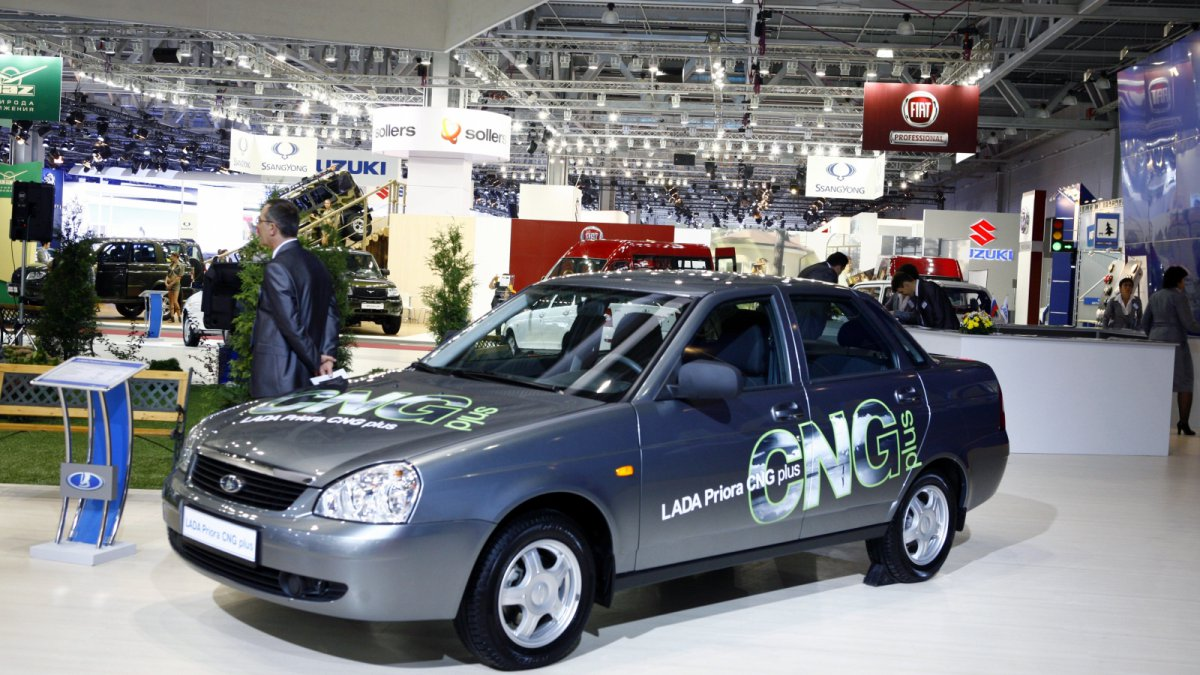 В России появится самый дешевый автомобиль на метане