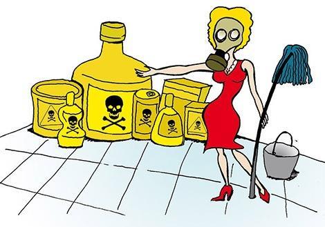 Цена чистоты: бытовая химия оказалась опаснее 20 сигарет в день бытовая химия,здоровье,уборка