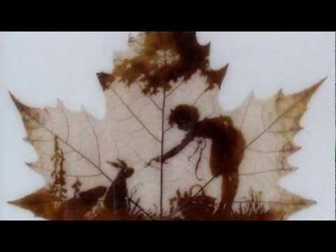 Живопись на кленовых листьях
