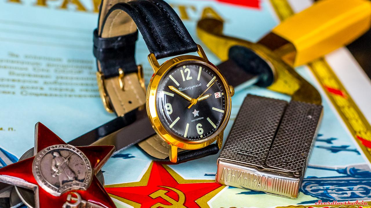 Командирские часы: история в картинках