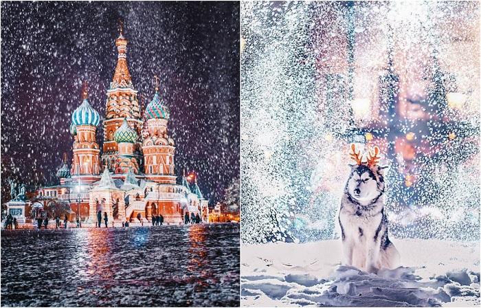 Сказочная Москва. 12 магическо-зимних фотографий Кристины Макеевой