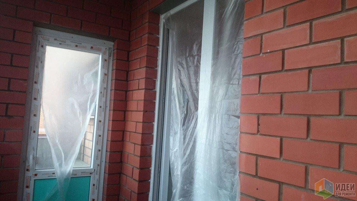 Плёнка на окнах и дверях