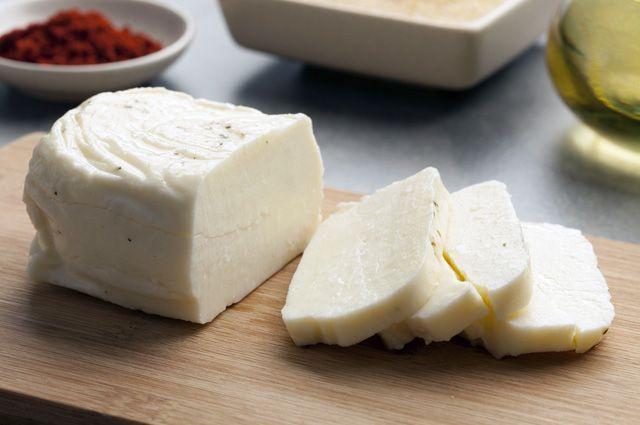 Знаменитый сыр халуми готовим сами!