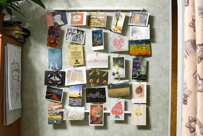 Подаренные открытки.