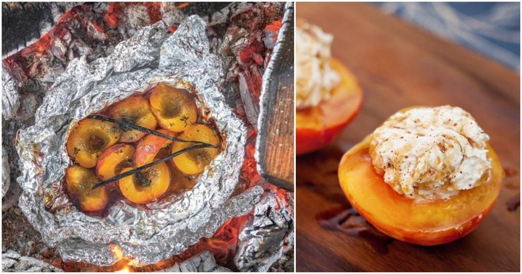 Все за персиками! Рецепт невероятно вкусных запеченных персиков