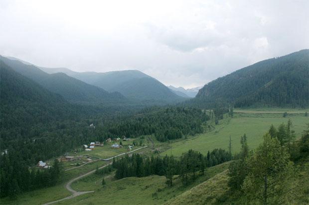 Алтай, озера Мульты автотуризм