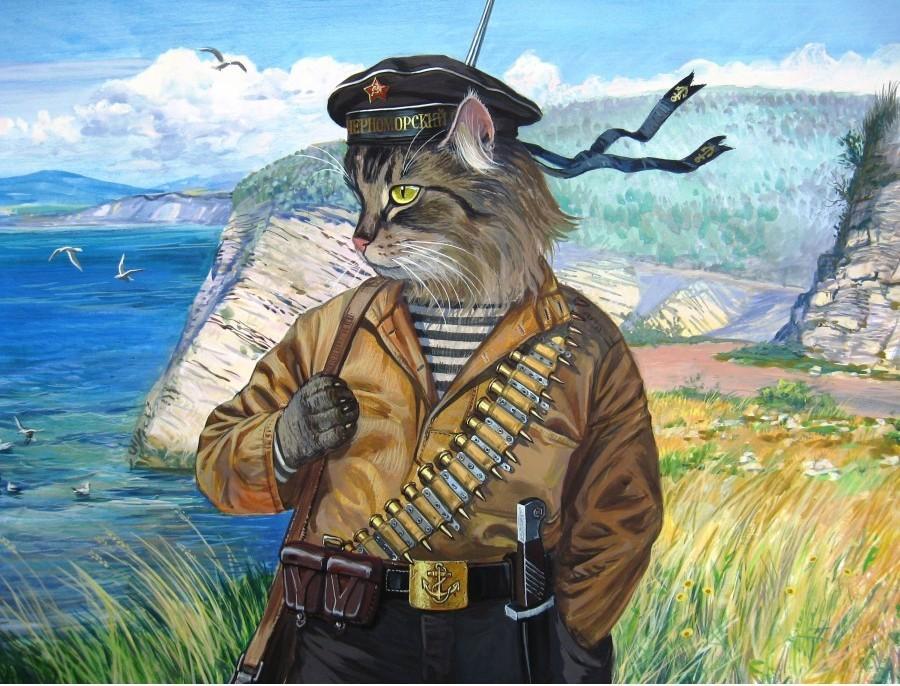 Февраля сталинградская, открытки на 23 февраля морякам кот моряк