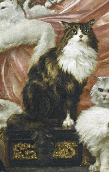 Величайшая картина с кошками в мире