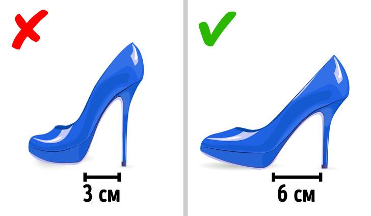 Какие нюансы стоит учесть, чтобы выбрать удобную обувь накаблуке