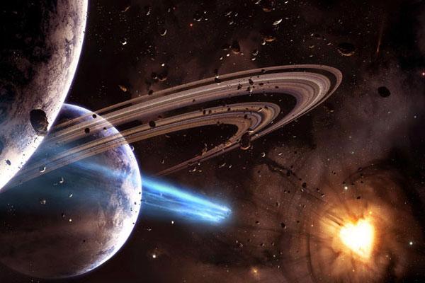 Земля находится в самом центре Вселенной