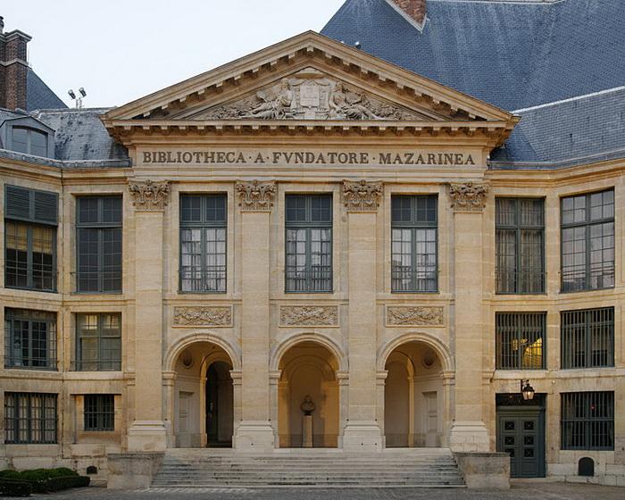 Библиотека Мазарини в Париже
