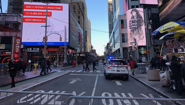 Власти Нью-Йорка назвали взрыв на Манхэттене терактом