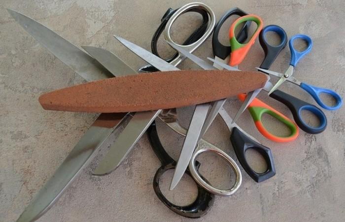 Простые способы наточить ножницы