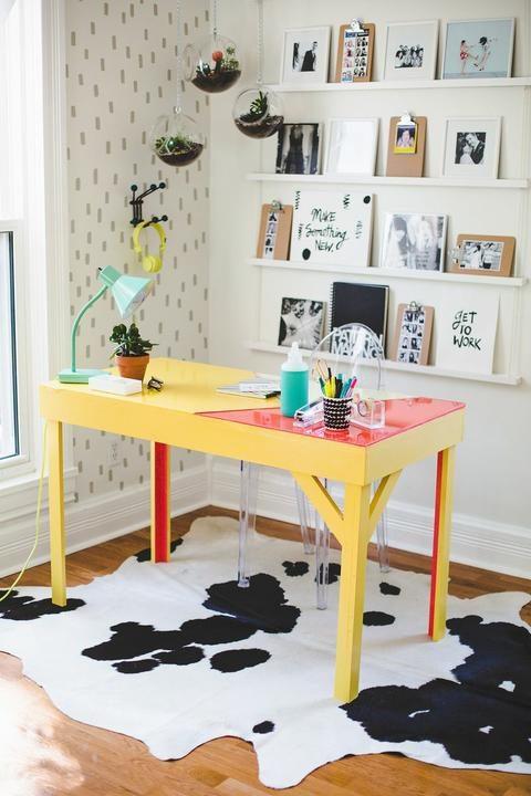 Декор стола при помощи эпоксидной смолы