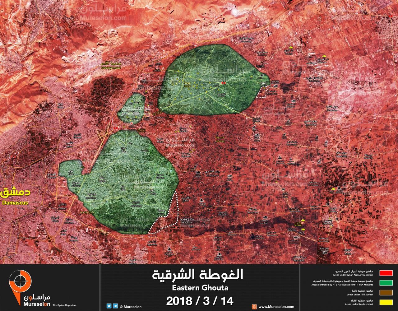 Коротко по Сирии 15.03.2018