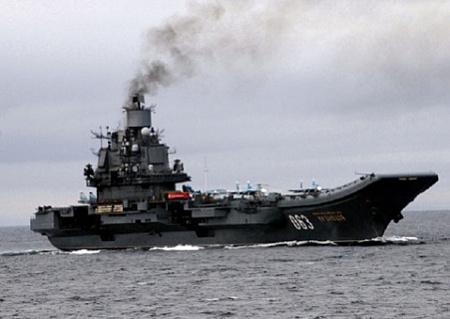 ВМФ России все-таки получит атомный авианосец вмф