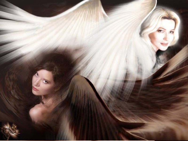 Два ангела или зачем жизнь дает нам испытания! Ваш характер по цвету лака на ногтях!
