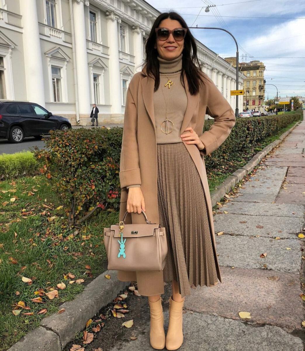 Осенние образы от Елены Ромашовой: 13 невероятно стильных идей total look