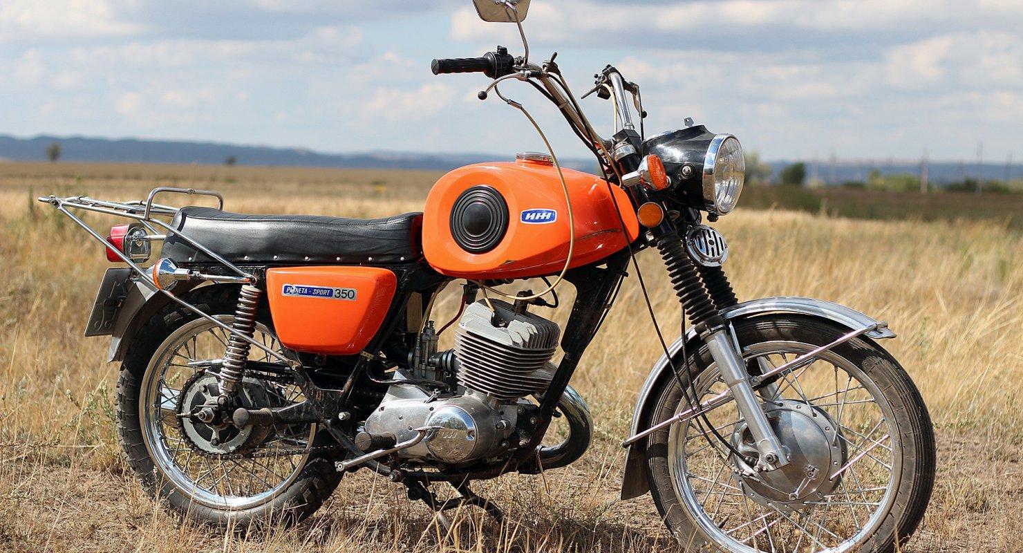 Почему Иж Планета Спорт считали лучшим мотоциклом? Мото