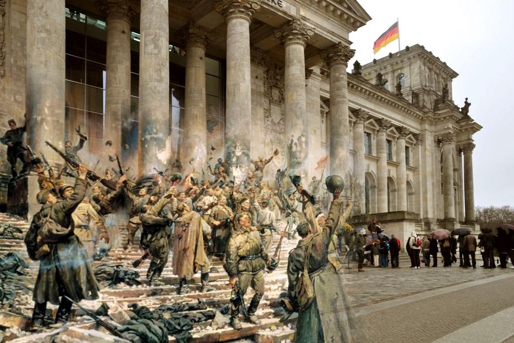 РЕЙХСТАГ: АВТОГРАФЫ ИЗ 1945-го… (Часть_2)
