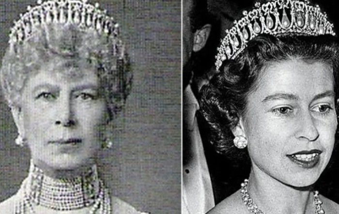 Елизавета II часто носит русскую тиару.