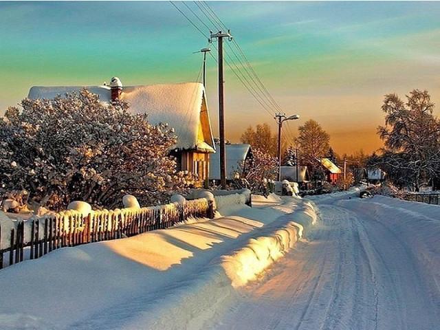 Зимняя  красота!