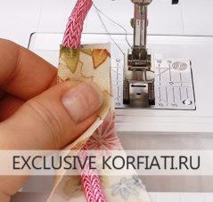 Лапка для изготовления шнуров