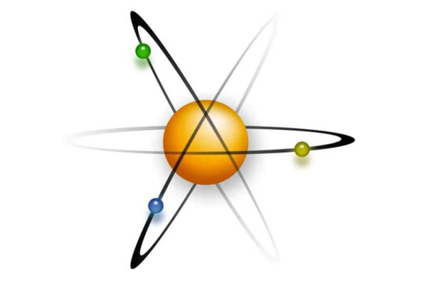 Самая маленькая из существующих частиц - атом