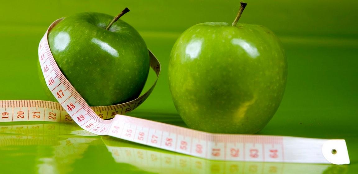 Яблочная диета за 5