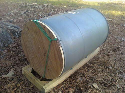 Чудо-помощник - бочка для компостирования